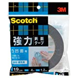 スコッチ(R) 強力両面テープ 凸凹面用 19 4SKH-19