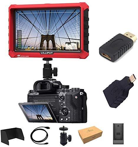Lilliput A7S 7 Zoll Utra Slim IPS Full HD 1920 x 1200 4K HDMI On-Camera Video Field Monitor For All DSLR Cameras