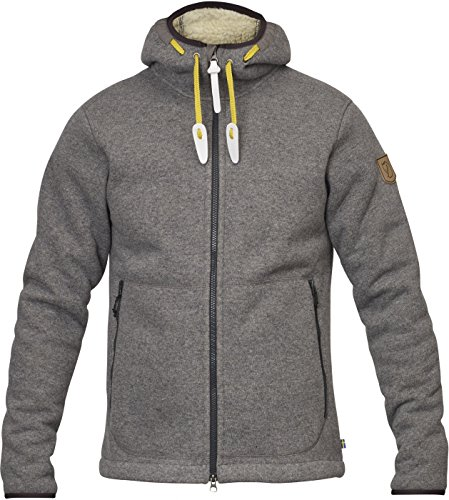 FJÄLLRÄVEN Polar Fleece JACKET M Sweat-shirt Homme Grey FR: XL (Taille Fabricant: XL)