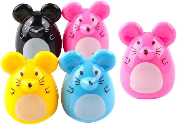 cheap Cute Pencil Sharpener Cartoon Mouse Stationary Year-end annual account Pattern