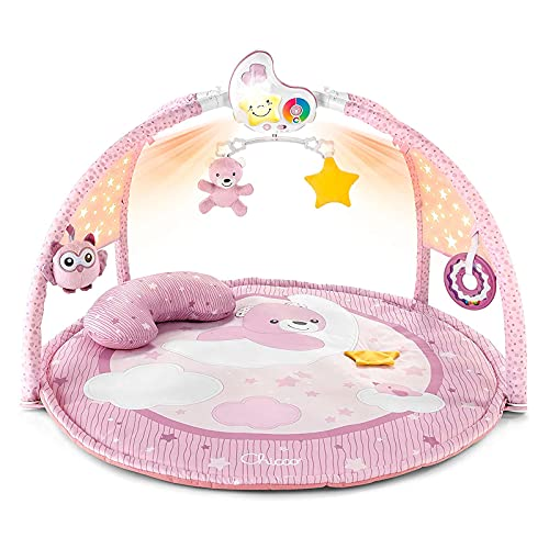 chicco 00009866100000 Enjoy Colors Gym Pink Manta Activities