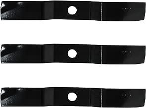 3PK Oregon 92-132 Lawn Mower Replacement Blades for Kubota G1800, G1900, G2000 & fits K5615-97520, K5764-34330, K5764-34342, RCK54-18Z