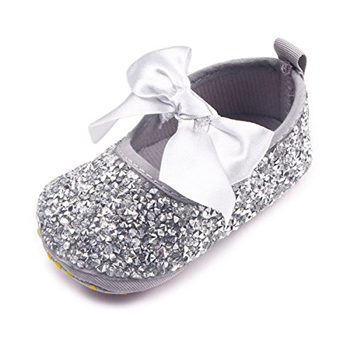 OAISNIT Baby Girls Mary Jane Infant Crib Shoes