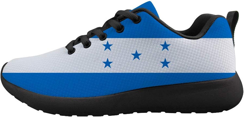Owaheson Cushioning Sneaker Trail Running shoes Mens Womens Honduras Flag