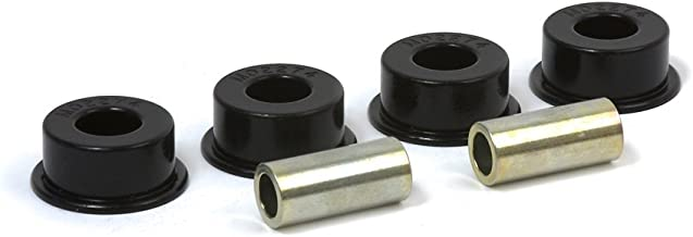 Daystar, Jeep TJ Wrangler Polyurethane Track Arm Bushings Front or Rear, fits TJ and YJ 1987 to 2006 4WD, KJ07001BK, Made in America, Black