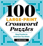 Best Crossword Puzzle Dictionaries - 100 Large-Print Crossword Puzzles: Easy Puzzles to Entertain Review