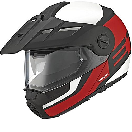 Schuberth Casco E1 cuidador rojo Small 55CM