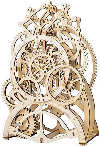 MUANSER Pendeluhr DIY Holzpuzzle, Brain Teaser Lern- und Technikspielzeug für Jugendliche und Erwachsene ab 14 Jahren, sehr gutes Lernspiel