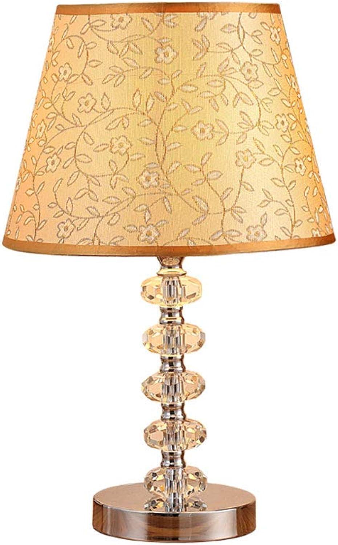TD Europische Kristall Nachttisch Zhler Lichtschalter Wohnzimmer Tischlampe