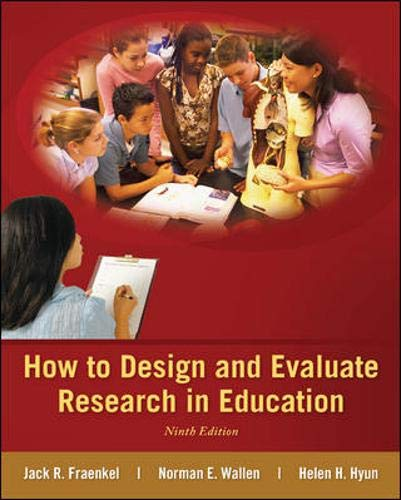 Download How to Design and Evaluate Research in Education 0078110394