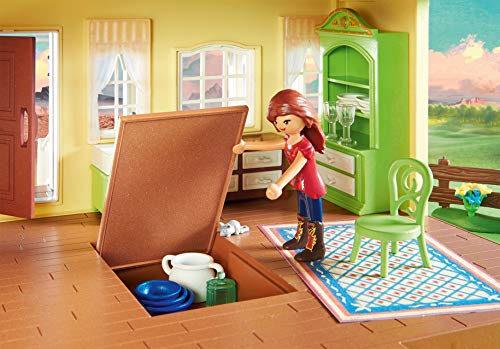 PLAYMOBIL DreamWorks Spirit Casa de Fortu, a Partir de 4 Años (9475)
