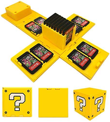 Switch Game Card Case Game Card Holder Nintendo Switch-Speicherkarten Etui Aufbewahrung Tasche Game Case für Nintendo Switch 3DS DS PSVita SD Speicherkarten with 16 Card Slots (?)