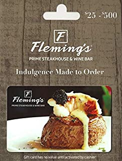 Flemings Prime Steakhouse & Wine Bar Gift Card $50