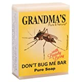 Grandma's Don't Bug Me Soap Bar - 2.0 oz Bug Repellent with No Chemicals & Safe for Children - 67023