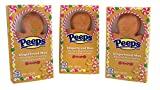 Peeps Gingerbread Man Flavored Marshmallow Christmas Stocking Stuffer, 1.19 oz, Set of 3