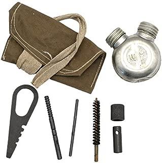 Original Surplus Mosin Nagant Russian Cleaning Maintenance Kit W Round Oil Bottle