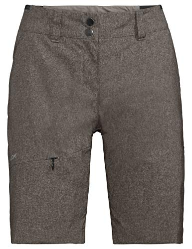 Vaude Damen Hose Women's Skomer Shorts II, Braun (coconut), 40