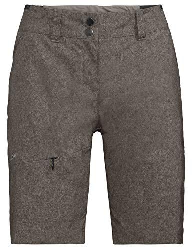Vaude Damen Hose Women's Skomer Shorts II, Braun (coconut), 36