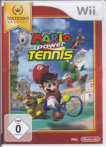 Wii Mario Power Tennis Select (PEGI)