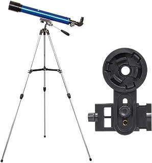 池田レンズ工業 天体望遠鏡 レグルス60 スマホ撮影セット 屈折式 口径60mm 焦点距離600mm ブルー