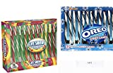 LifeSavers 5 Flavors Candy Canes & Oreo Flavored Candy Canes 12 Count Each