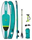 Jobe 2018 Aero Desna Inflatable Stand Up Paddle Board 10'0 x 32 Inc Paddle, Backpack, Pump & Leash