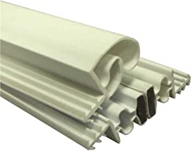Strybuc Industries 900-9000S-25 Magnetic Weatherstrip Set, White, 84