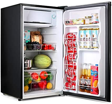 TACKLIFE Compact Refrigerator 3 2 Cu Ft Mini Fridge with Freezer Energy Star Rating Low noise product image