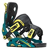 Flow Fuse Fusion Snowboard Bindings 2018 - Men's Teal Large