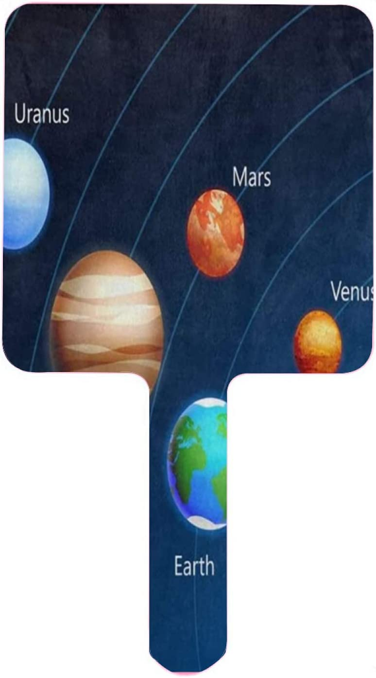 Hand Super-cheap Mirror Solar System Planet Universe Nebula outlet Star Galaxy