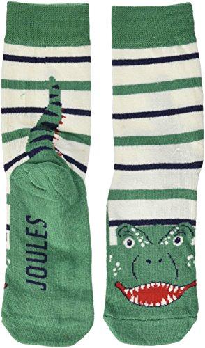 Tom Joule Jungen Socken Eat Feet, Grün (Dino DINO), 27-31 EU (Herstellergröße: 9-12 UK)