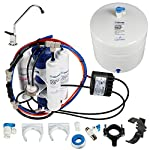 Home master tmafc-erp artesian full contact undersink reverse osmosis water filter system , white 7 a better ro system | home master artesian full contact's innovative design solves most common problems associated with cannister and tankless ro systems. Mineral water on tap | patented remineralization system adds calcium and magnesium twice during the purification process for reduced storage tank degradation and great tasting, highly pure mineral water on tap. Highly pure water | 7-stages of filtration, purification and enhancement remove up to 99% of chlorine & chloramines, chemicals, lead, heavy metals, fluoride, microplastics, tds, and thousands more. Bpa and lead free. 5 year limited warranty.