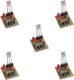 láser receptor sensor módulo distancia detección no modulador Tubo 5 V para Arduino DIYmalls (Pack of 5)