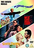 Sound Of Music The South Pacific West Side Story (3 Dvd) [Edizione: Regno Unito] [Edizione: Regno Unito]