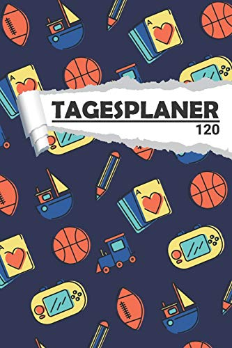Tagesplaner Kinderspielzeug: Cooler Terminplaner I DIN A5 I 120 Seiten I Tageskalender I Organizer für Schule, Uni und Büro (Abstrakte Tagesplaner, Band 1)