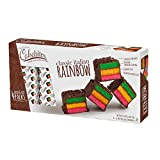 The Original Cakebites by Cookies United, Grab-and-Go Bite-Sized Snack, Italian Rainbow, 4 Pack of 3 Cookies