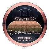 Bourjois - Ombre à paupières 1 Seconde Eyeshadow - Smoky Facile et Couleur Intense...