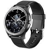 jpantech Smartwatch, Reloj Inteligente IP68 Pulsera Actividad Inteligente con Pulsómetro, Monitor de Sueño, Podómetro, Calorías Mujer Hombre para iOS y Android
