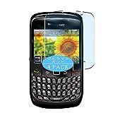 Vaxson 4 Unidades Protector de Pantalla Anti Luz Azul, compatible con BlackBerry Curve 8520/9300 [No Vidrio Templado] TPU Película Protectora