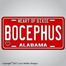 ALABAMA Hank Williams Jr BOCEPHUS Aluminum License Plate Tag New FUNNY