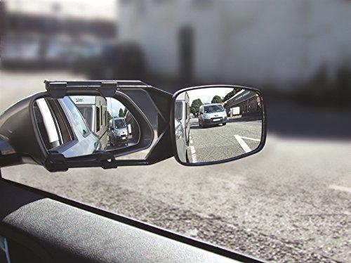 MSA© Abschleppspiegel für Wohnwagen, mit E-Markierung, 2 Stück