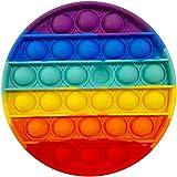 EMZOH Fidget Toy, Sensorial Fidget Juguete, Fidget Juguete Push Pop Bubble Sensory Toy Autismo Ansiedad Fidget Niños Necesidades Especiales Relajante Adultos Original Divertido Push Pop Bubble Game
