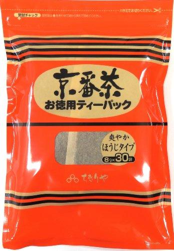 ちきりや 京番茶ティーバッグ 30パック入 240g
