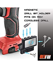 BITFIX Bithouder voor accuschroevendraaier, universele houder, bithouder, magnetisch, schroefhouder, universeel model, magnetische krachtcapaciteit, eenvoudige installatie en gebruik