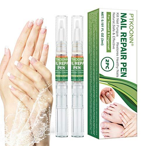 Tratamiento de Uñas, Hongos Uñas Pies, Pluma de Reparación de Uñas, reparación de uñas, Uñas de los pies y las Uñas Solución, Tratamiento rápido y eficaz Anti-Hongos para uñas 2PC