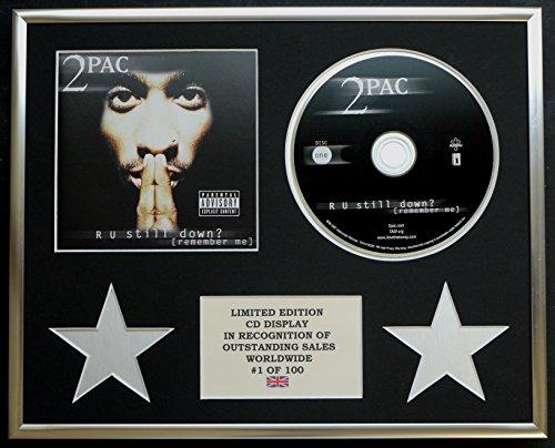 Everythingcollectible Tupac/CD-Darstellung/Limitierte Edition/COA/R U STILL DOWN