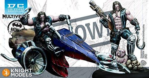Juego de miniaturas de Batman DC Multiverso ~ 35 m Lobo Figura Set por Knight Models