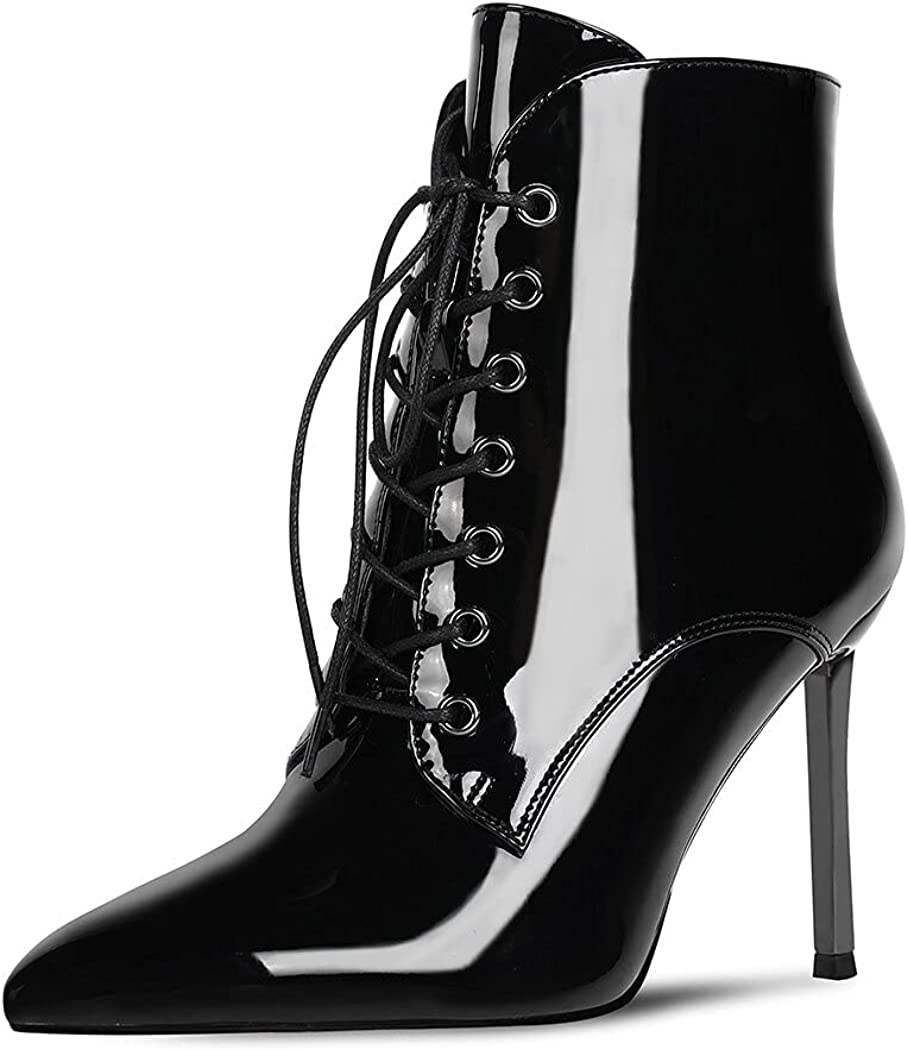 wetkiss Women Ankle Booties Mid-Calf Sale SALE% OFF 2021 model Stiletto Embo Fashion Boots