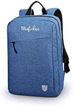 Mufubu Presents Iconic Slim Casual Laptop Backpack Bag for Students & Office Professionals (Blue)