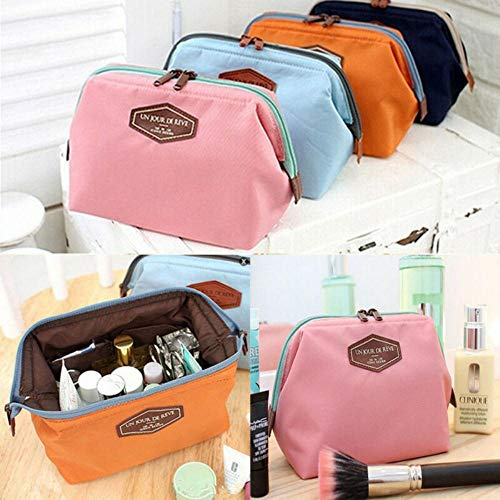 SAGIUSDM Cosmetic Bag Women Multifunction Makeup Pouch Toiletry Case Women Bag Multifunction Cosmetic Bag,Blue